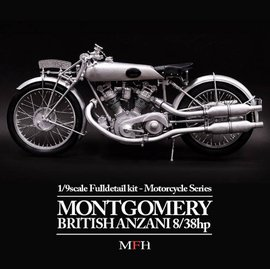 MFH Model kit K540 Montgomery British Anzani 8/38 h. p.