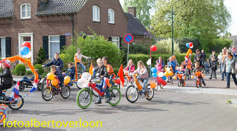 Koningsdag 27-04-2018 overloon