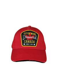 DSQUARED2 Baseball Cap City of Wood Canada Rood
