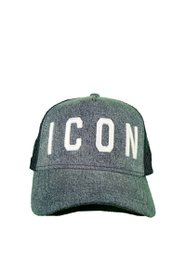 DSQUARED2 ICON Baseball Cap Grijs
