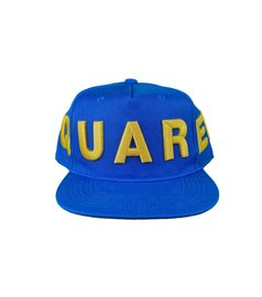 DSQUARED2 Embroided Baseball Cap Blauw