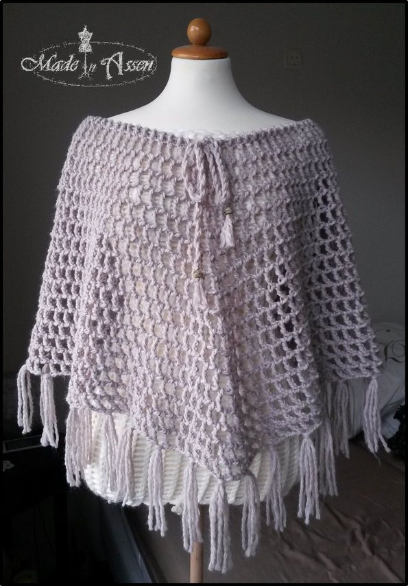 Lazy Sunday Poncho Ponchos Haken Made In Assen