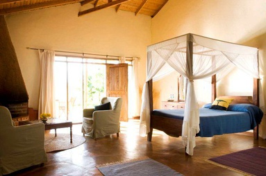 One of the lodges used during an accommodated safari in Tanzania