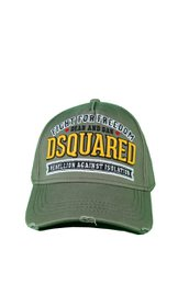 DSQUARED2 Fight For Freedom Baseball Cap Leger-Groen