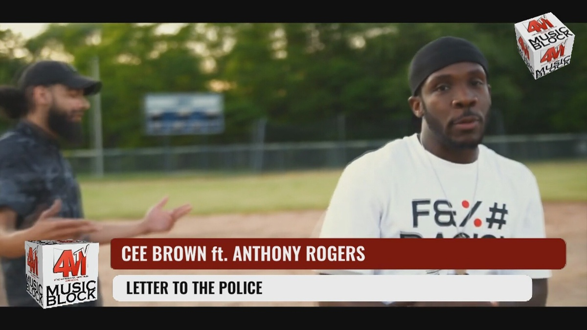 CEE BROWN ft. ANTHONY ROGERS  - LETTER TO THE POLICE