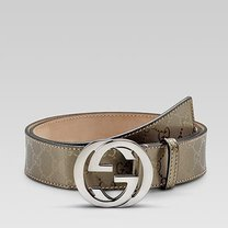 b9e65c7ce38 GG Supreme belt with G buckle (Gold)