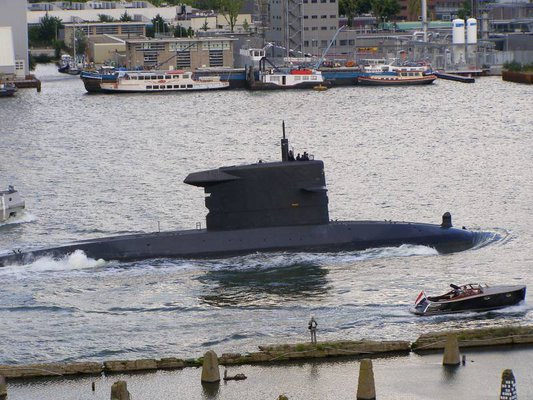Dutch submarine, Zr.Ms. Walrus