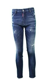 DSQUARED2 destroyed look Jeans