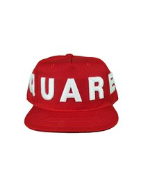 DSQUARED2 Embroided Baseball Cap Rood