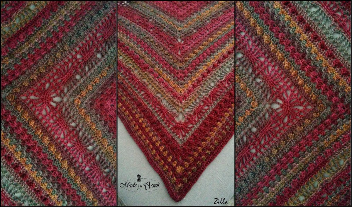 Mix It Up Shawl Omslagdoeken Haken Made In Assen
