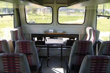 Inside look at an overland truck used on Africa group tours