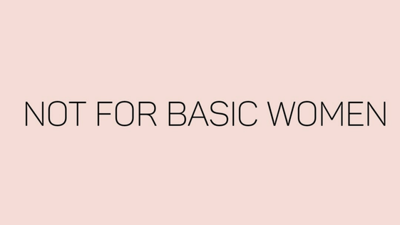 Not For Basic Women | De leukste fashion musthaves