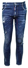 DSQUARED2 'Tidy Biker Jean' raw-cut jeans