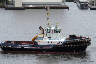 assisting tug, Mercurius - Dutch