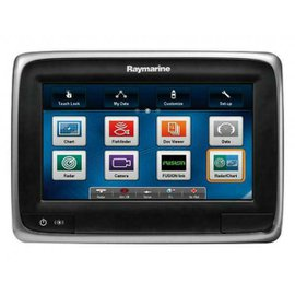 Raymarine a78 Kaartplotter, 7 inch, zonder kaart, intern DownVision CHIRP sonar, CPT-100 transom transducer, WiFi