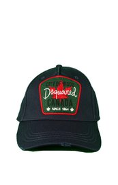 Dsquared2 City of Wood Canada Baseball Cap blauw/groen
