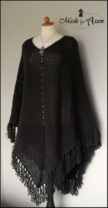 Zillas Basis Poncho Ponchos Haken Made In Assen