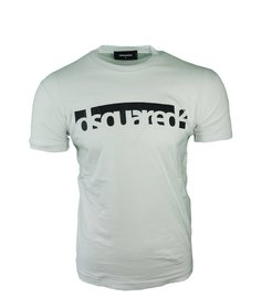 DSQUARED2 Printed T-Shirt Wit