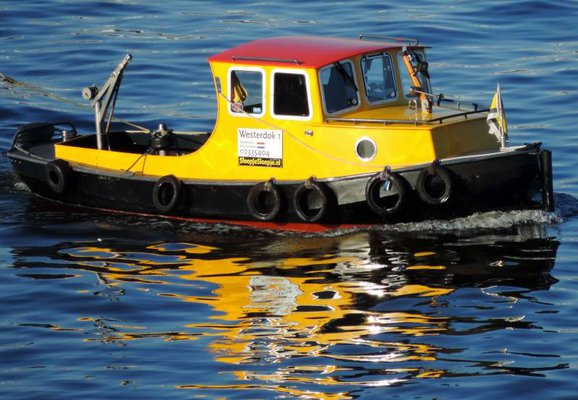 Westerdok1, tug for small boats
