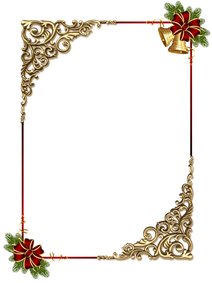 Christmas_Gold_PNG_Photo_Frame_with_Red_Bow.png