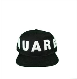 DSQUARED2 Embroided Baseball Cap Zwart