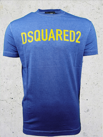 DSQUARED2 Logo T-shirt Blauw