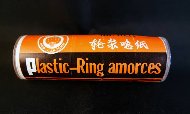 Red Lantern - Plastic-Ring amorces