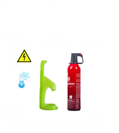 Sprayblusser auto 750ml incl. houder