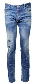 DSQUARED2 Proud Canuck Jeans Slim J Blue