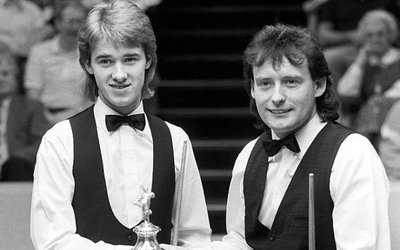 Stephen Hendry en Jimmy White