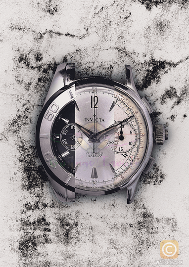 Invicta poster white