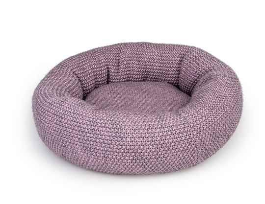 Knitted Donut Roze - 45 cm
