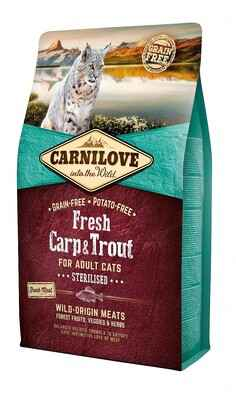 Carnilove Cat Fresh Carp & Trout - Sterilised