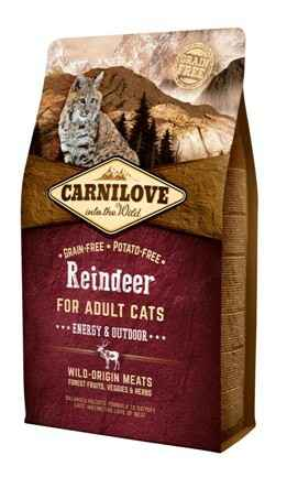 Carnilove Cat Rendier - Energy/Outdoor