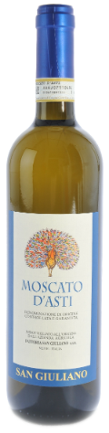 Moscato d'Asti D.O.C.G. (Mousserend zoet)