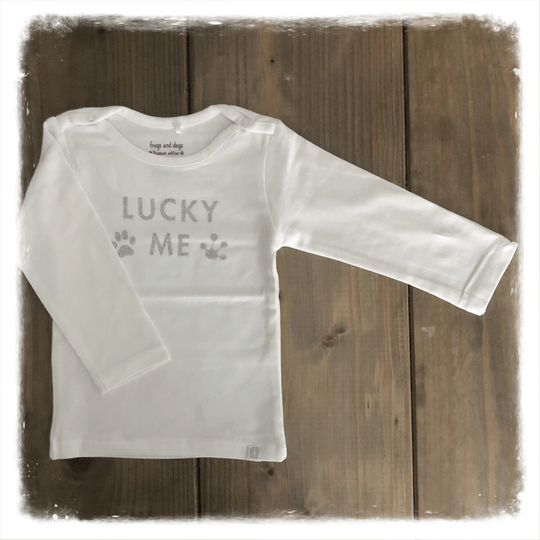 Frogs and Dogs shirtje Lucky Girls