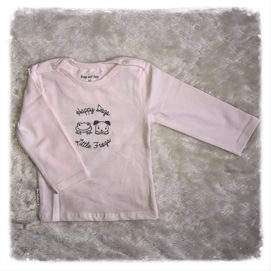 Frogs and Dogs shirtje roze