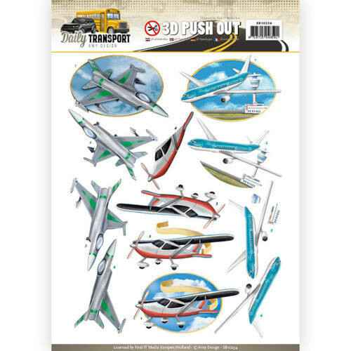 SB10234 - 3D Pushout - Amy Design - Daily Transport - Flying High