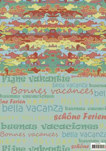 SETBGS10001 - Background sheets - Yvonne Creations - Summer Holiday