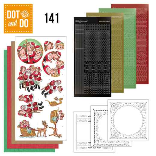 DODO141 - Dot & Do 141 - Bubbly Girls Xmas