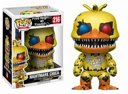 POP13734 - POP! GAMES FIVE NIGHTS AT FREDDY'S CHICA (216)