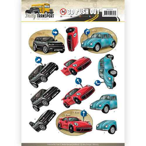 SB10235 - 3D Pushout - Amy Design - Daily Transport - Daily Cars