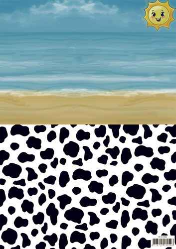 SETBGS10002 - Background sheets - Yvonne Creations - Summer Holiday