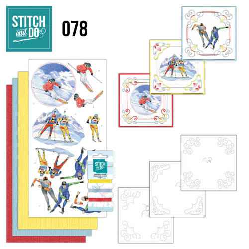 STDO078 - Stitch & Do 78 - Wintersports
