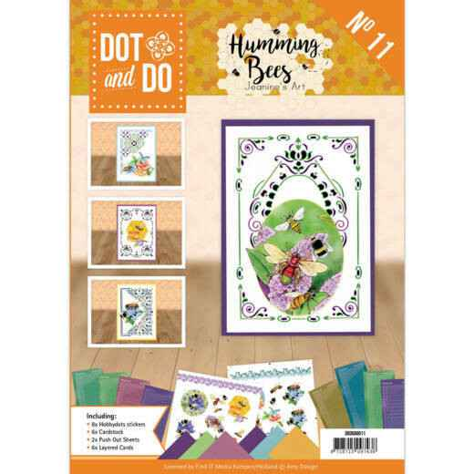DODOA6011 - Dot and Do Book 11- Jeanine's Art - Humming bees