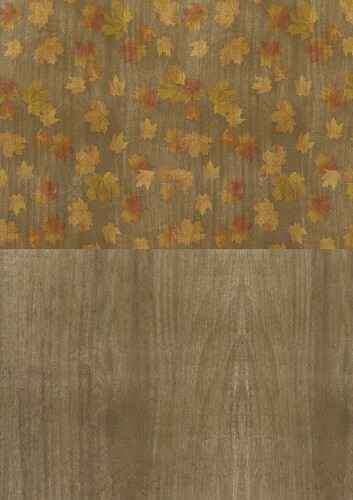 BGS10007 - Backgroundsheets - Amy Design - Autumn Moments - Leaves