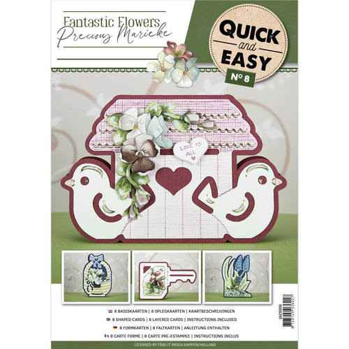 QAE10008 - Quick and Easy 8 - Fantastic Flowers