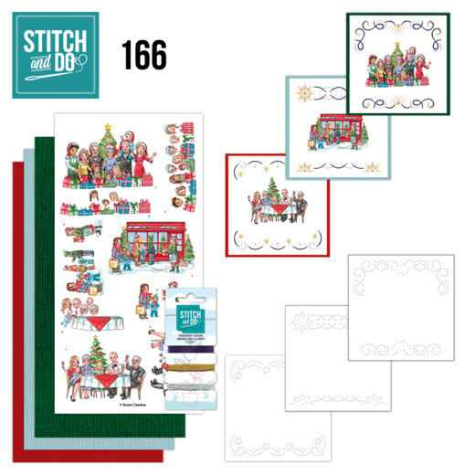 STDO166 - Stitch and Do 166 - Yvonne Creations - The Heart of Christmas - Shopping