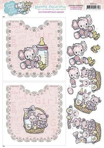 HDOT10001 - Hobbydots Sheets - Yvonne Creations - Baby Girl