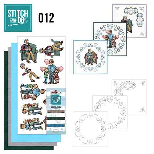 STDO012 - Stitch & Do 12 - Vaderdag
